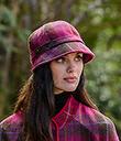 Irish Rose Ladies Tweed Hat