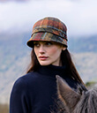 Shades of Autumn Tweed Hat