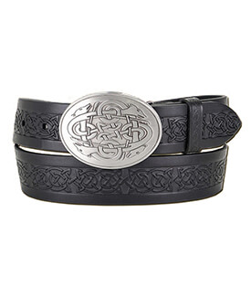 Celtic Hounds Buckle with Belt