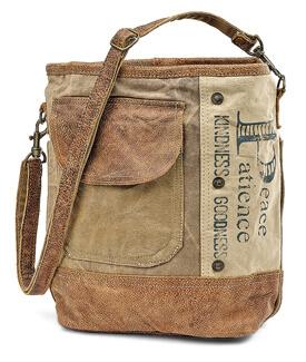 Peace & Patience Shoulder Bag