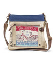 The Beautiful Ride Bag Made of  Recycled Canvas Military Tents Gaelsong