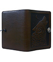 Wolf Song Large Journal Leather Chocolate Color 2 Gaelsong
