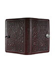 Celtic Hounds Small Journal Wine Leather 2 Gaelsong