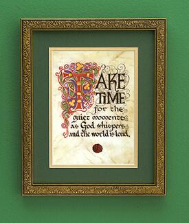 Take Time Print
