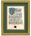 Today Print, Gilded Frame Gaelsong