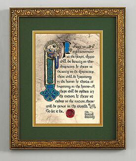 Scottish Blessing Print