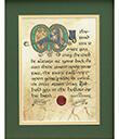 Irish Blessing Print, Unframed Gaelsong