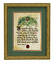 A Sacred Place Print, Gilded Frame Gaelsong