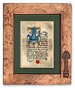 Lord's Prayer in Gaelic Print - Lord's Prayer in Gaelic, Gilded Frame