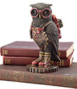Six-Inch Steampunk Owl with Jetpack