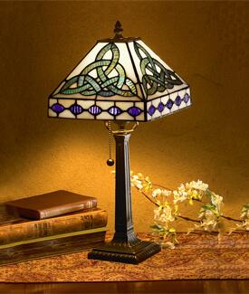 Trinity Knot Lamp