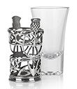 Thistle Shot Glass 2 Gaelsong