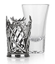 Stag Shot Glass 2 Gaelsong