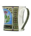 Thistle Scotland Mug Made of Ceramic Blue Gaelsong