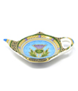 Thistle Scotland Tea Bag Holder Made of Ceramic Blue Gaelsong