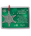 Celtic Snowflake Ornament