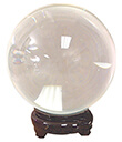 6 cm Crystal Ball w/ Stand
