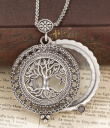 Magnifier Pendant Tree Top Image Gaelsong