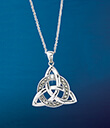 Encircled Trinity Knot Pendant Gaelsong