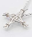 Bridget's Cross Pendant