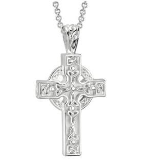 Deep Faith Celtic Cross Pendant