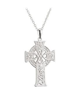 Four Evangelists Celtic Cross Pendant