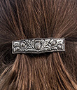 Thistle Hair Barrette