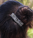 Thistle Hair Barrette Lifestyle 2 Gaelsong