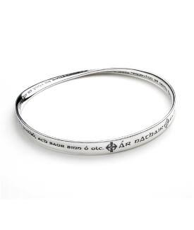 Lord's Prayer in Gaelic Bracelet