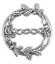 Scarf Ring, Oakleaf and Acorns