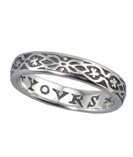 Yours Only Ring, Sterling Silver