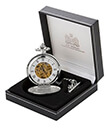 Mechanical Pocket Watch with Box Gaelsong