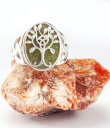 Tree of Life Ring Gaelsong on Rock