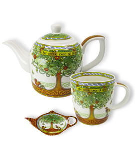 Celtic Tree of Life Tea Collection