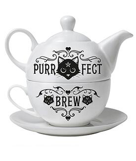 Purr-fect Brew Tea-For-One Set