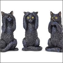 Cats & Owls & Ravens