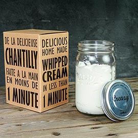 Creazy Homemade Whipped Cream Maker