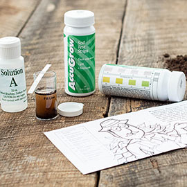 Accugrow<sup>™</sup> Soil Test Kit