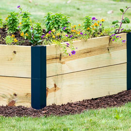 Raised Garden Bed Corners & Extenders - Raised Garden Bed Corners