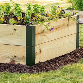 Raised Garden Bed Corners & Extenders