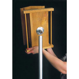 Wood Feeder & Nest Box Pole