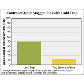 Ladd Apple Maggot Fly Trap & Lure