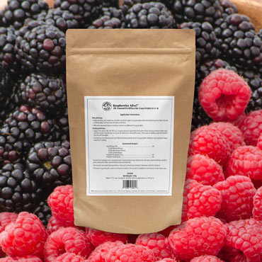 Raspberries Alive!<sup>™</sup> Raspberry Fertilizer