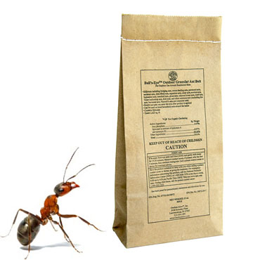 Bull's-Eye<sup>™</sup>  Outdoor Granular Ant Bait