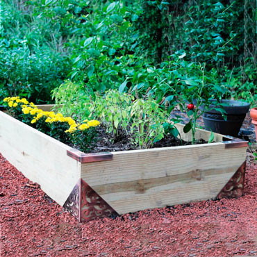GardenFrame<sup>™</sup> Raised Garden Bed Kit
