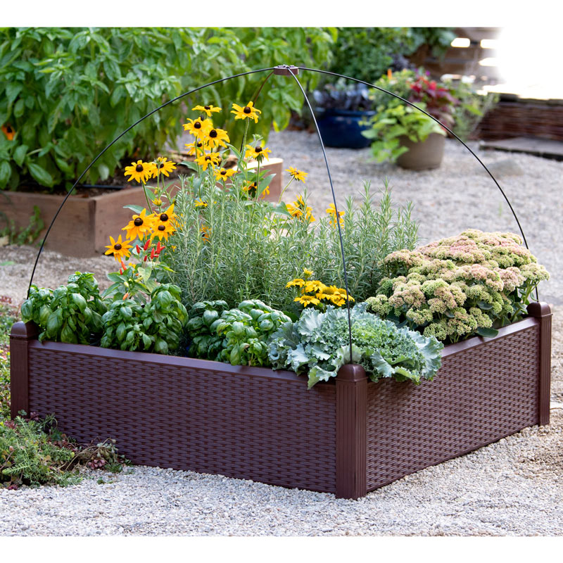 Simple Solution Raised Garden Bed Raised Beds From Gardens Alive