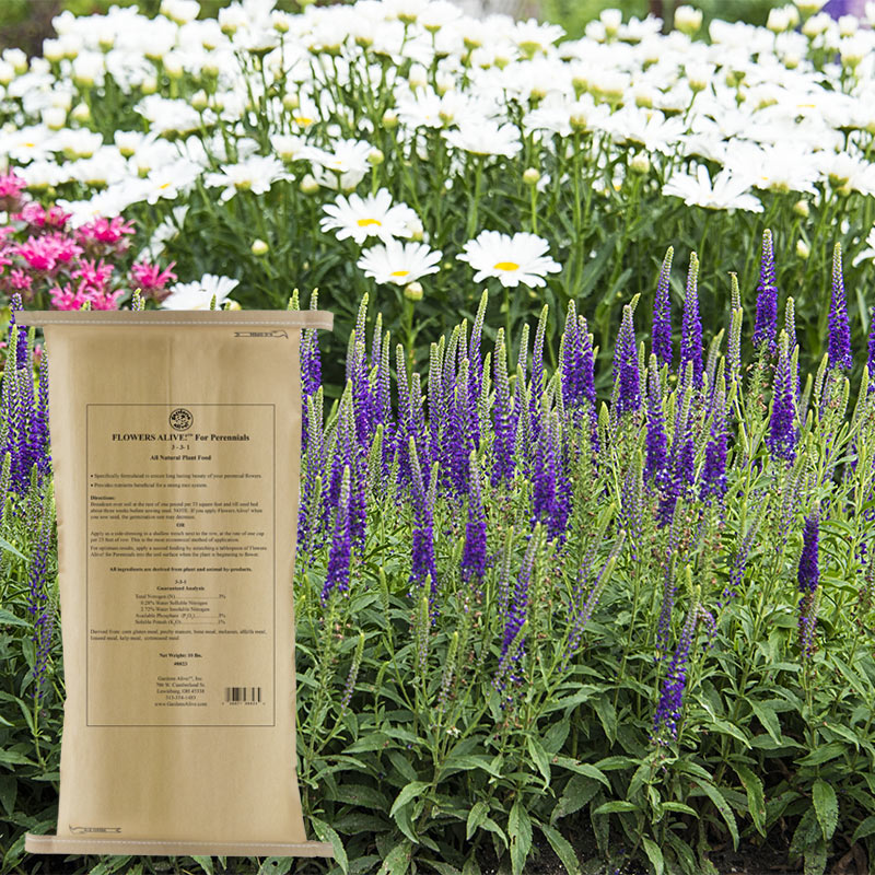Flowers Alive For Perennials Fertilizers From Gardens Alive