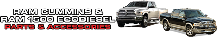 Ram Cummins and Ram 1500 EcoDiesel Parts & Accessories
