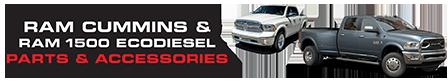 Ram Cummins Diesel and Ram 1500 EcoDiesel Parts & Accessories