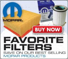 MOPAR Filter Specials